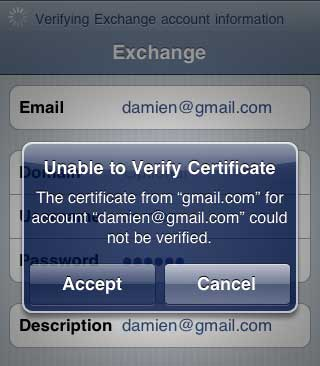 gmail email on iphone