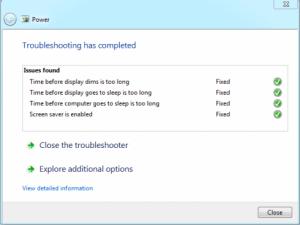 Windows7 battery fix