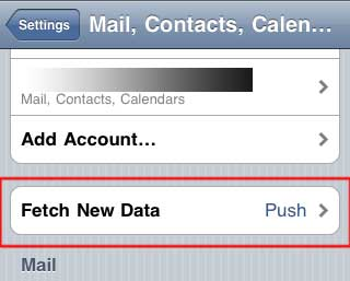 setting up gmail on iphone setting up push notification for gmail in iphone 18003