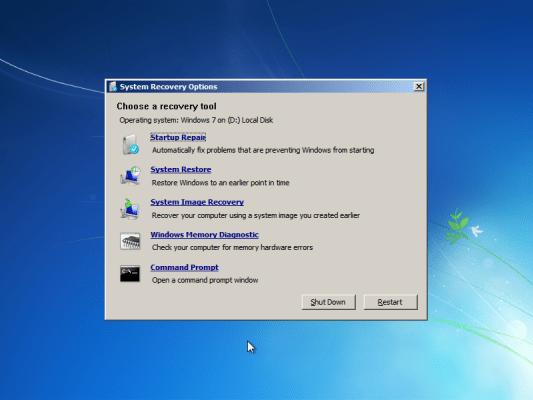 Windows RE tools