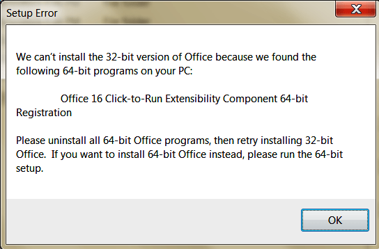 Office 16 Click-to-Run Extensibility Component