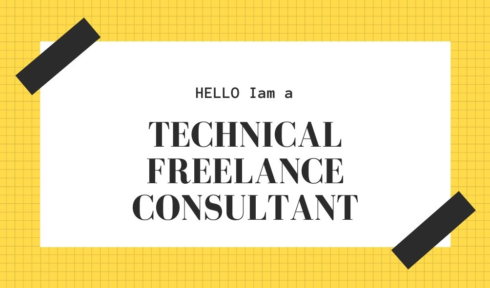 Technical Freelance Consultant