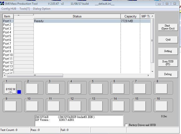 SM3255AB-USB Tool