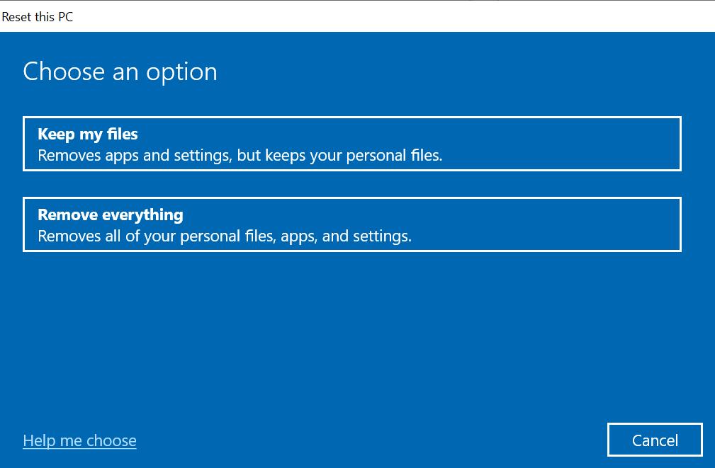 Fix Windows 10 computer